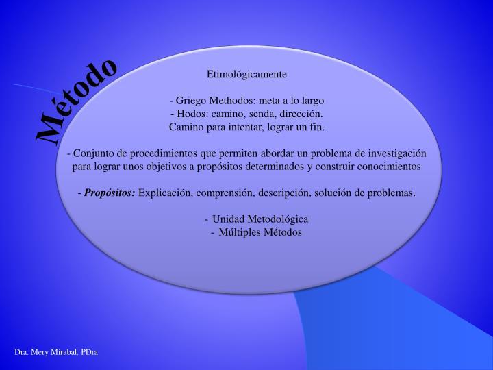 Etimológicamente