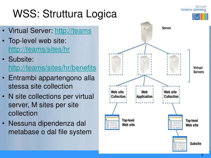 WSS: Struttura Logica
