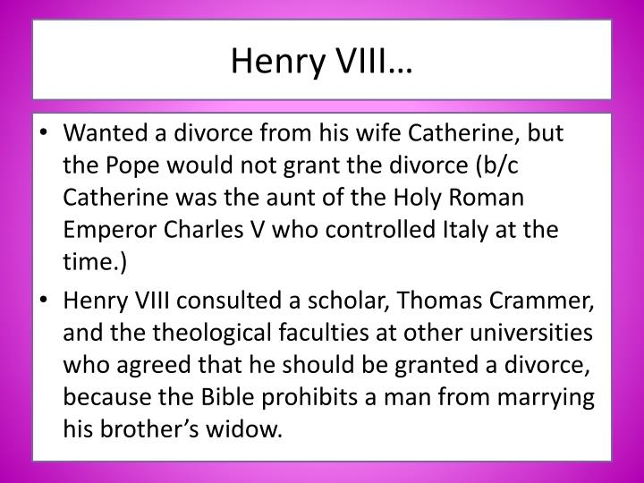 why did henry viii break from rome Why did henry viii take break from rome by matt quinn introduction we all know that henry vii was famous for his seven wives but he also broke away from rome and.
