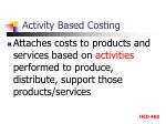 activity based costing1