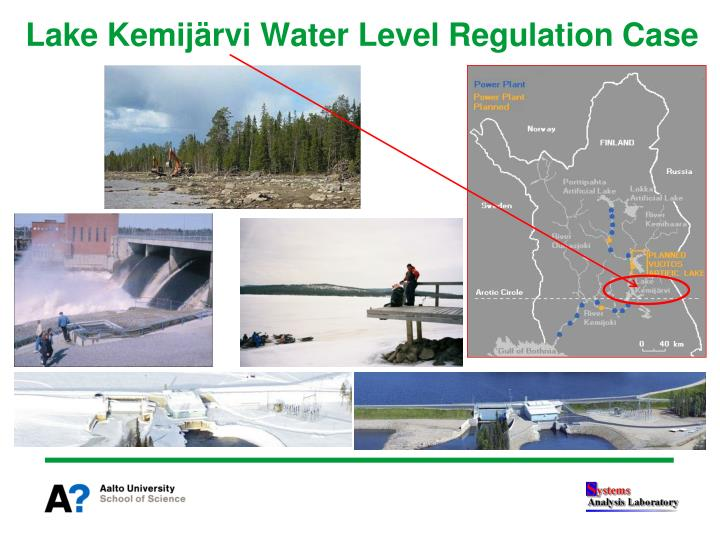 Lake Kemijärvi Water Level Regulation Case