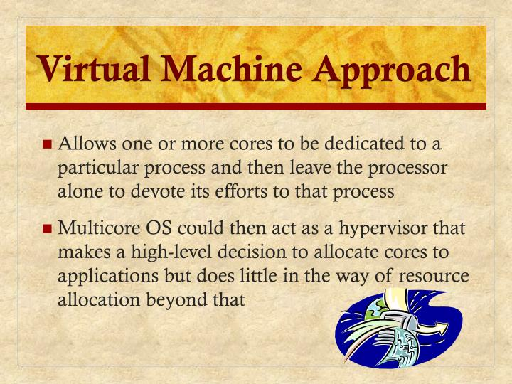 Virtual Machine Approach