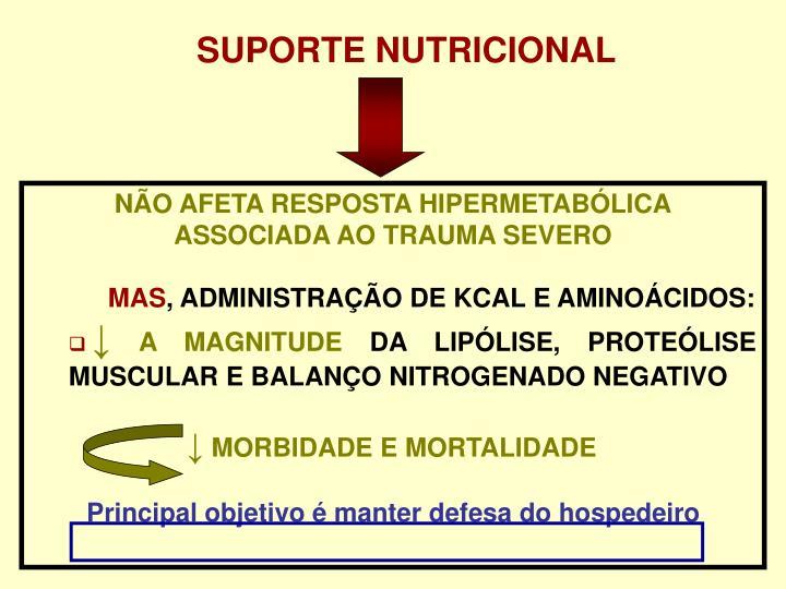 SUPORTE NUTRICIONAL