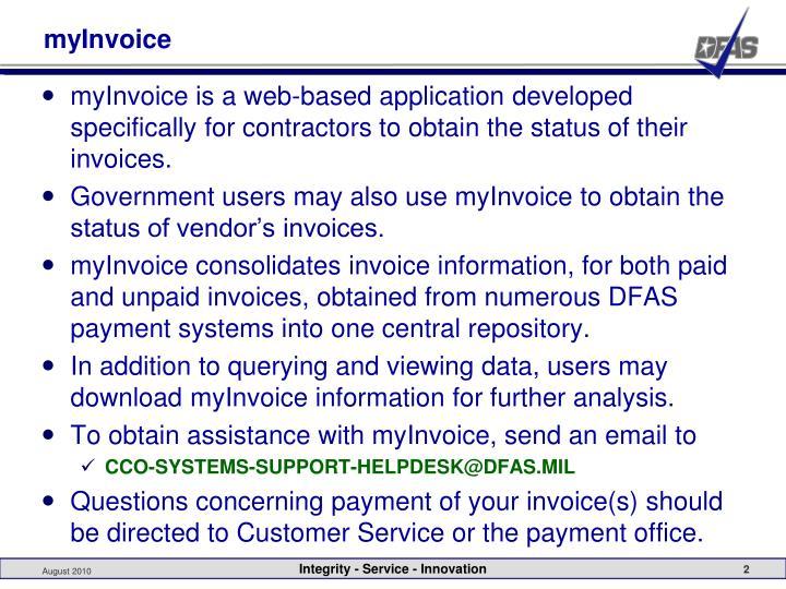 myInvoice