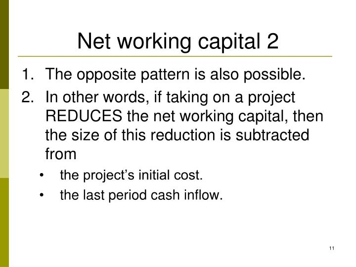 Net working capital 2