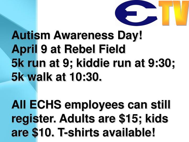 Autism Awareness Day!