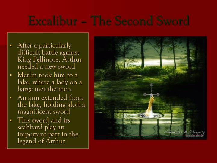 Excalibur – The Second Sword