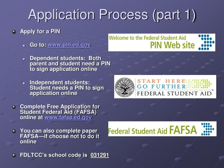 Application Process (part 1)
