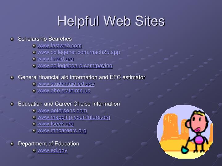 Helpful Web Sites