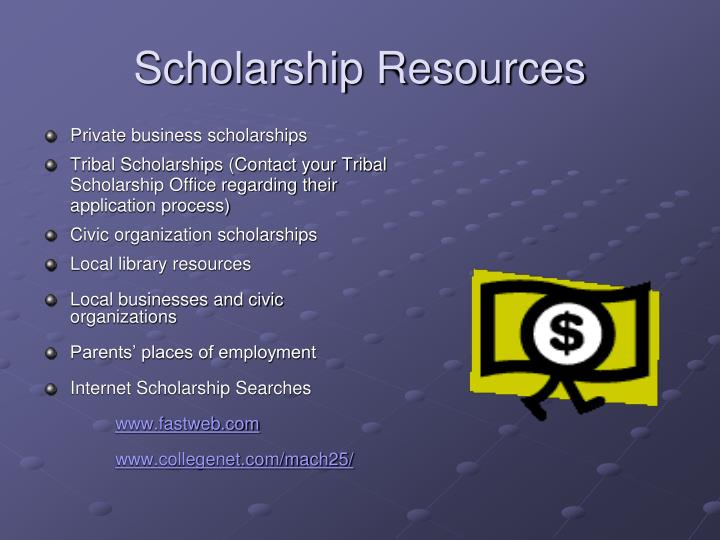 Scholarship Resources