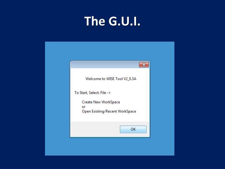 The G.U.I.