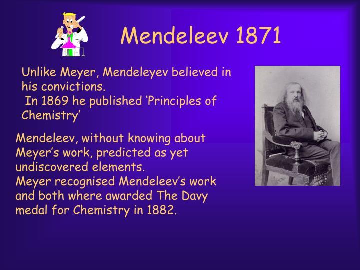 Mendeleev 1871
