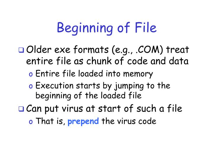 Beginning of File