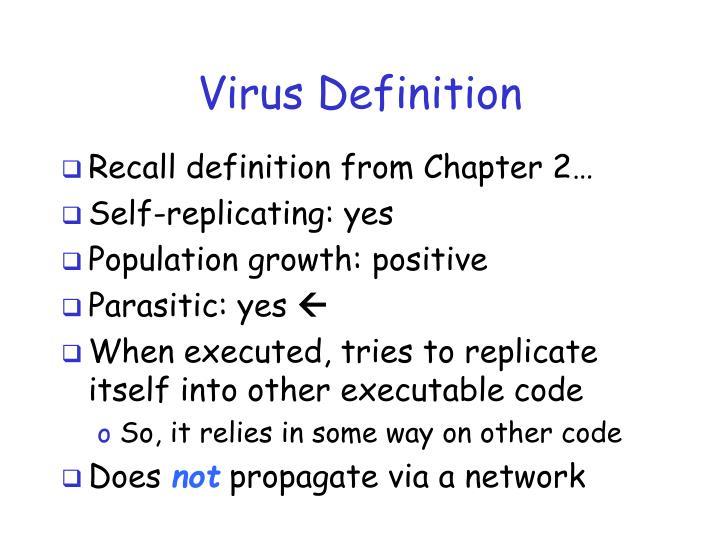 Virus Definition