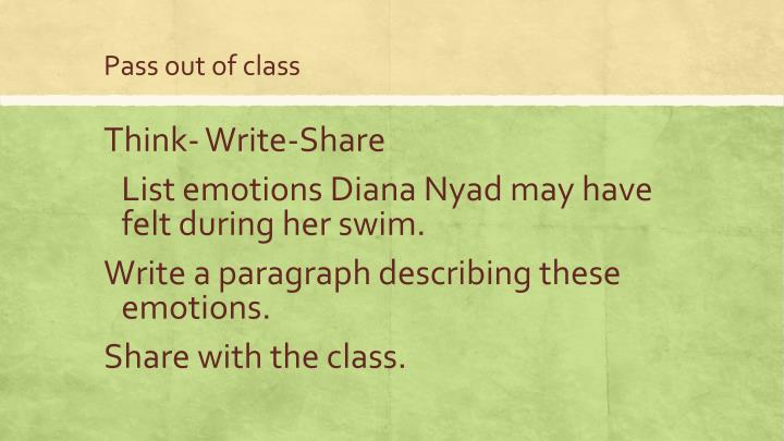 Think- Write-Share