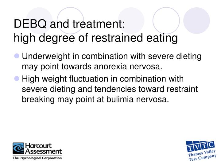 DEBQ and treatment: