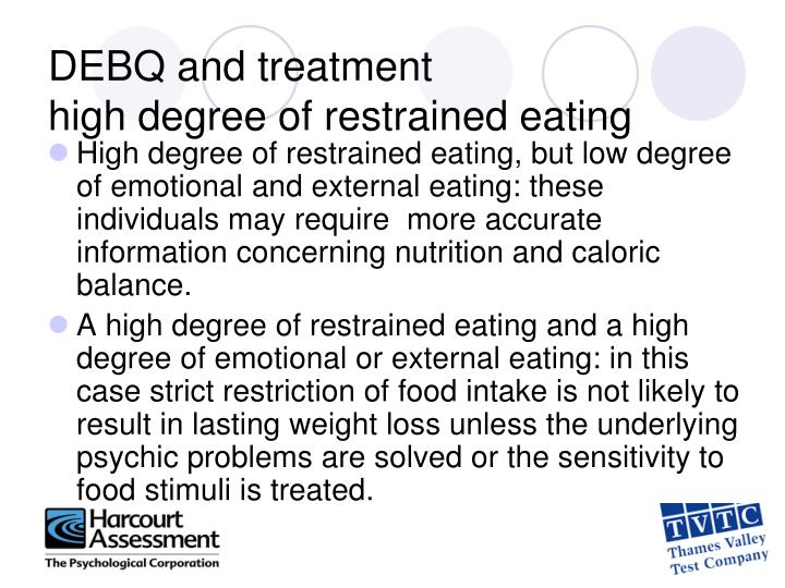 DEBQ and treatment