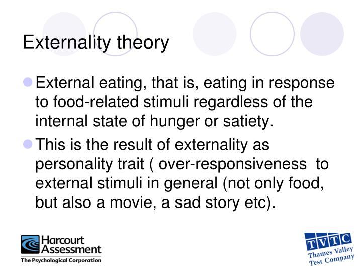 Externality theory