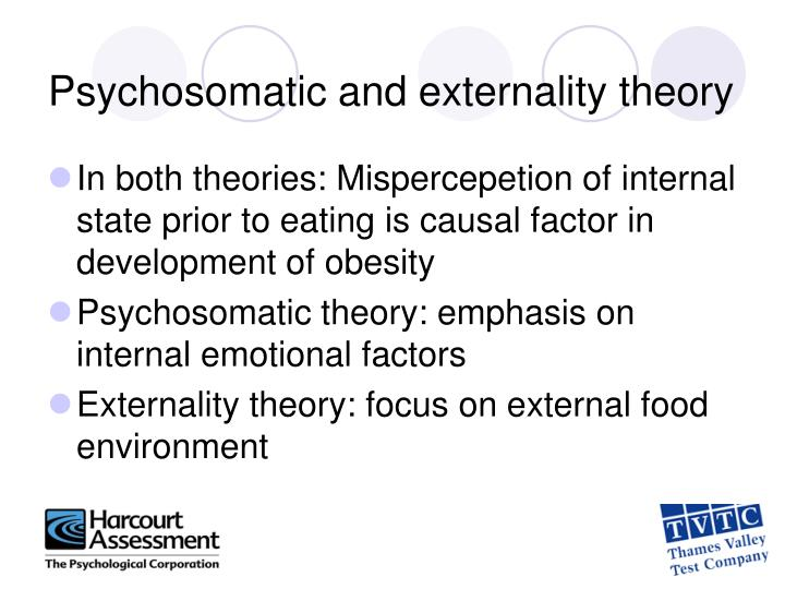 Psychosomatic and externality theory