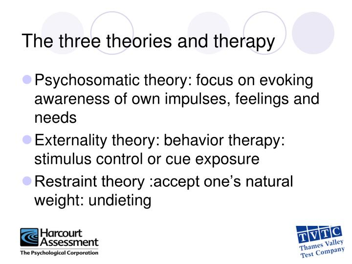 The three theories and therapy