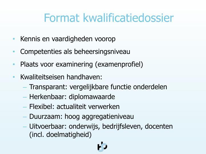 Format k