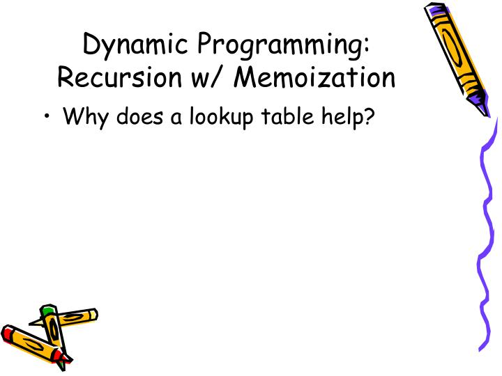 Dynamic Programming: