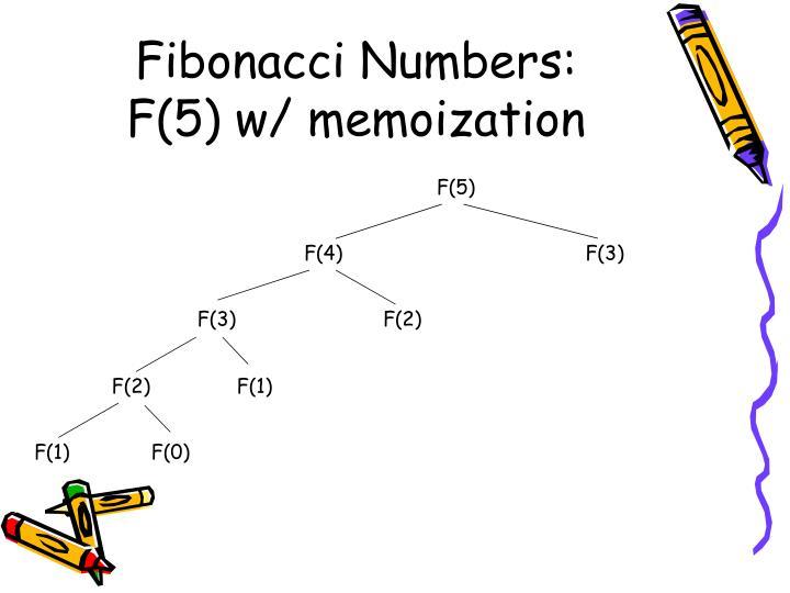 Fibonacci Numbers: