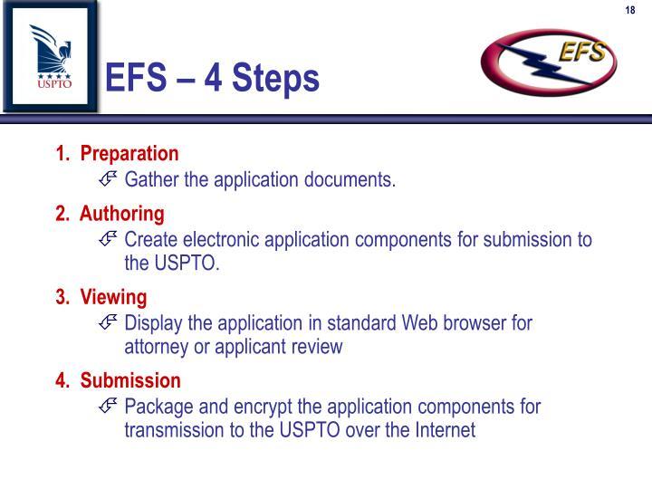 EFS – 4 Steps