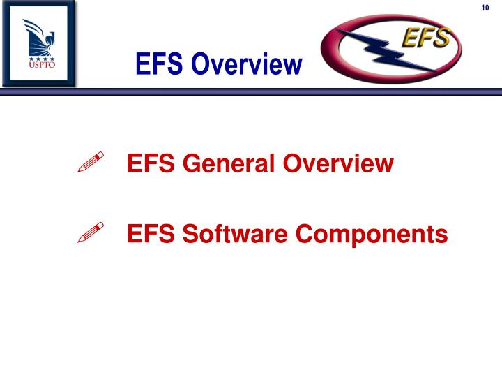 EFS Overview
