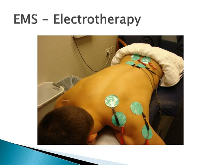 EMS - Electrotherapy
