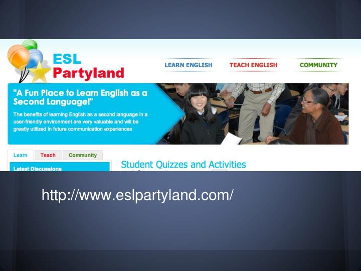 http://www.eslpartyland.com/