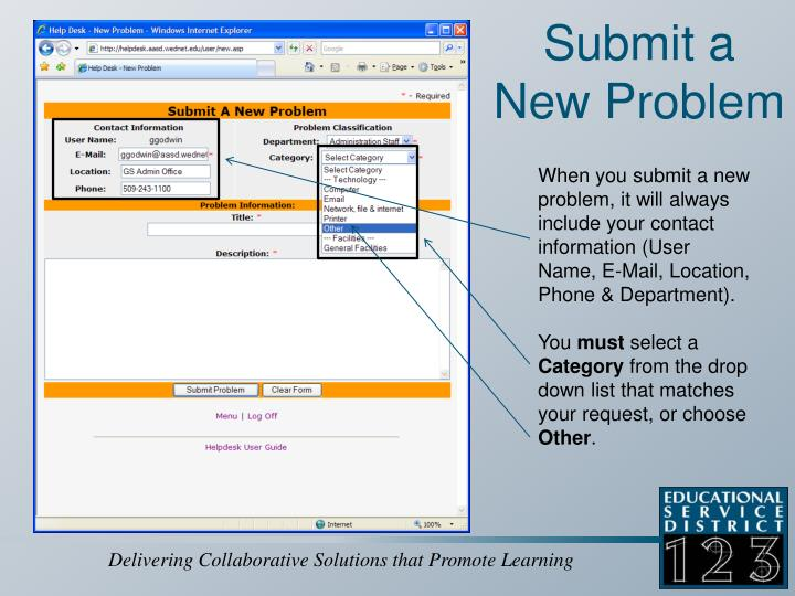 Submit a New Problem