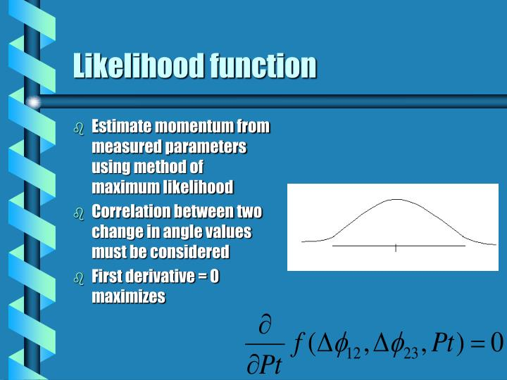 Likelihood function