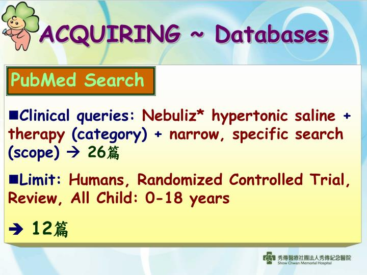 Clinical queries
