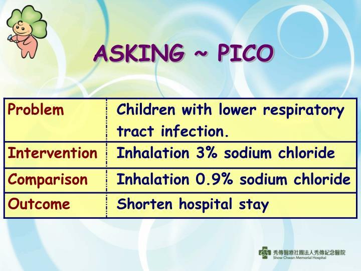 ASKING ~ PICO
