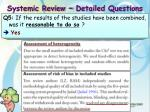 systemic review detailed questions2