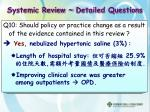 systemic review detailed questions7