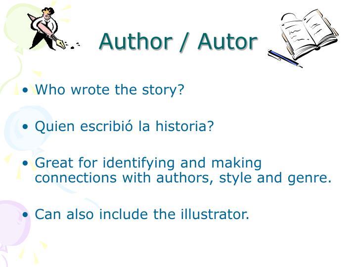 Author / Autor