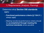 1 requirements analysis planning6