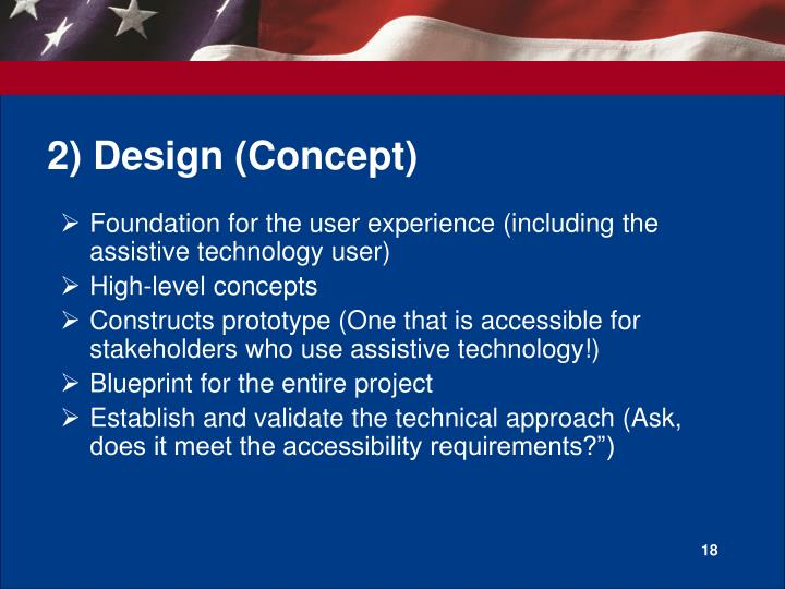 2) Design (Concept)