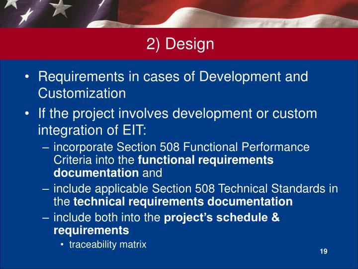2) Design