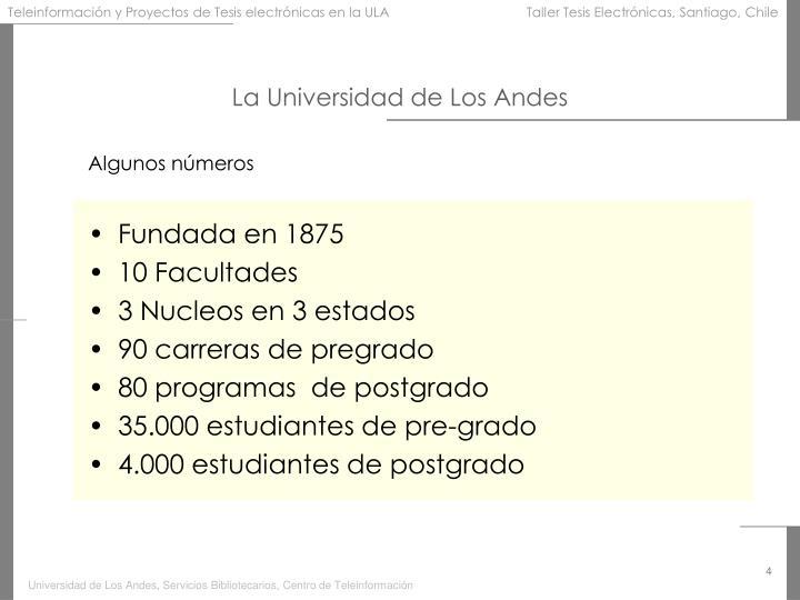 La Universidad de Los Andes