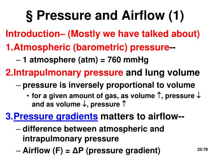 § Pressure and Airflow (1)