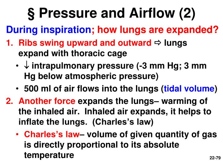 § Pressure and Airflow (2)