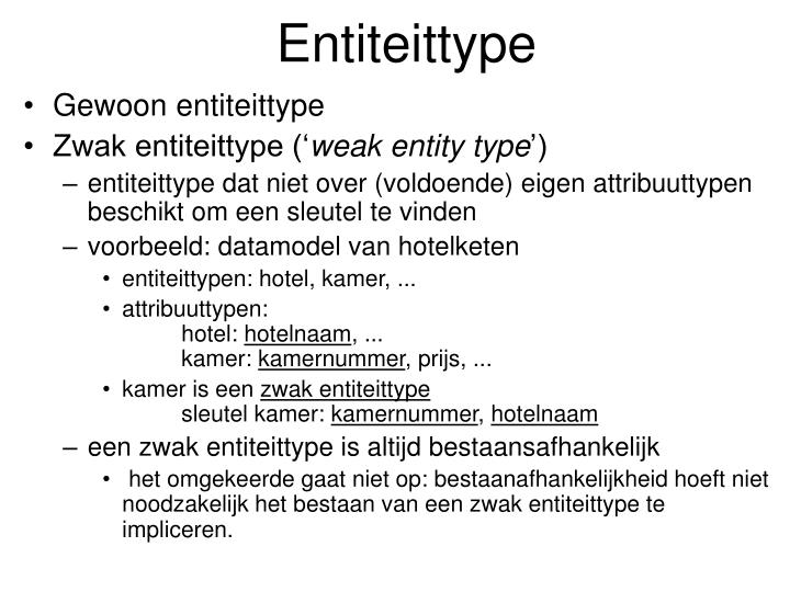 Entiteittype