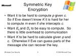 symmetric key encryption1