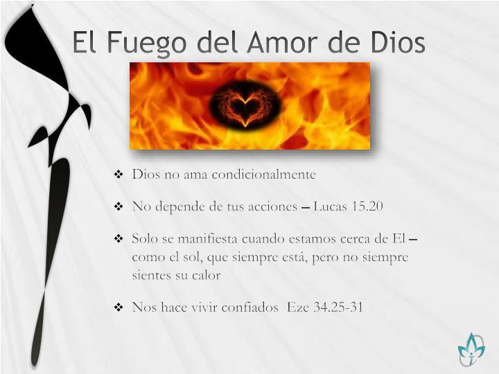 El Fuego del Amor de Dios