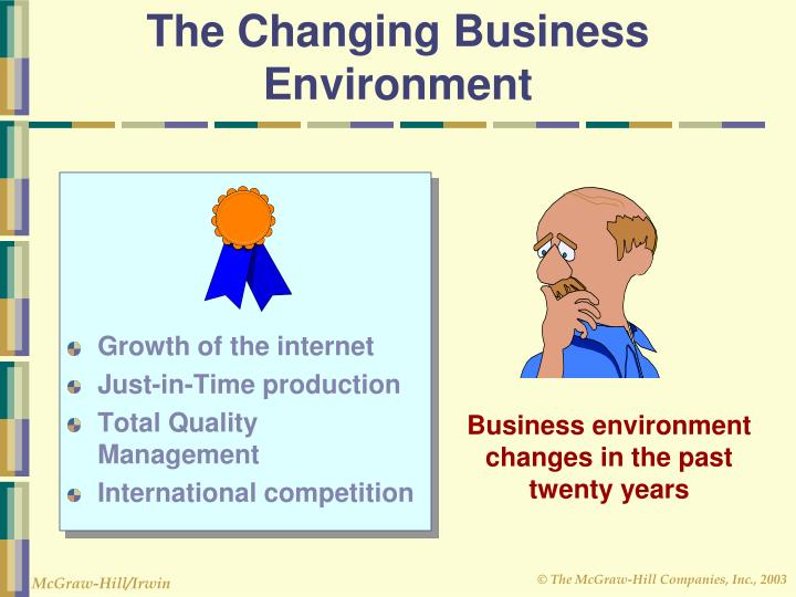 The Changing Business Environment
