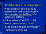 collaboration communication