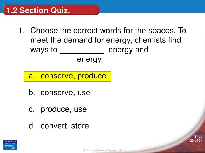 1.2 Section Quiz.